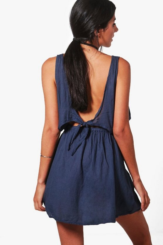 Bryony Knot Back Sun Dress