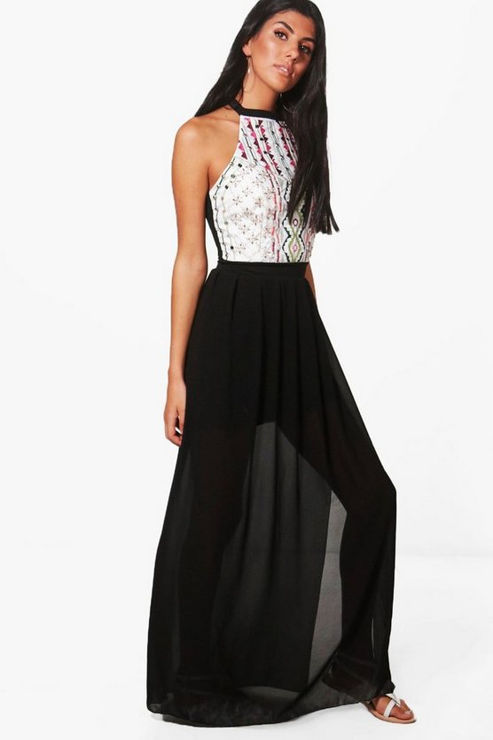 Danni Embellished Maxi Dress