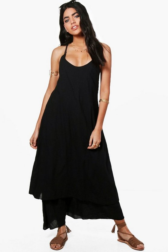 Kayla Rope Detail Maxi Dress