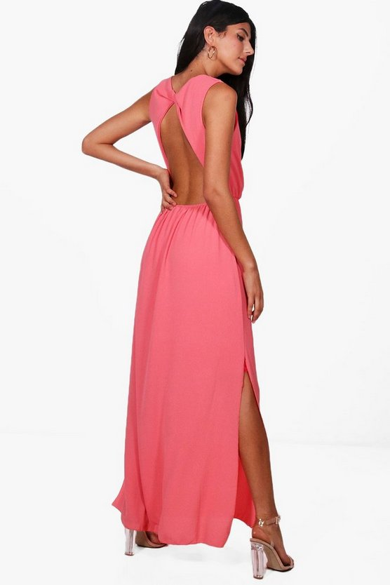 Jess Backless Maxi Dress