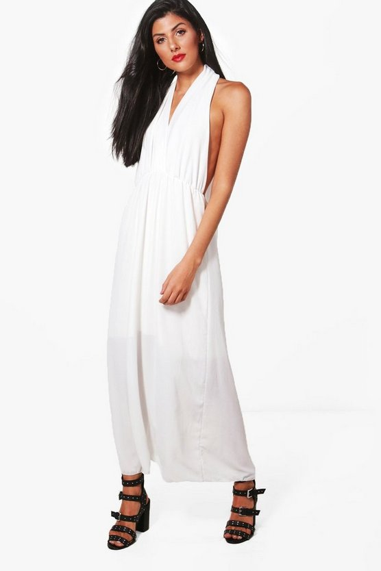 Cara Halter Neck Maxi Dress