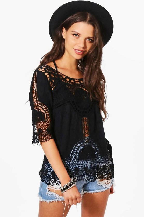 Maddison Crochet Top