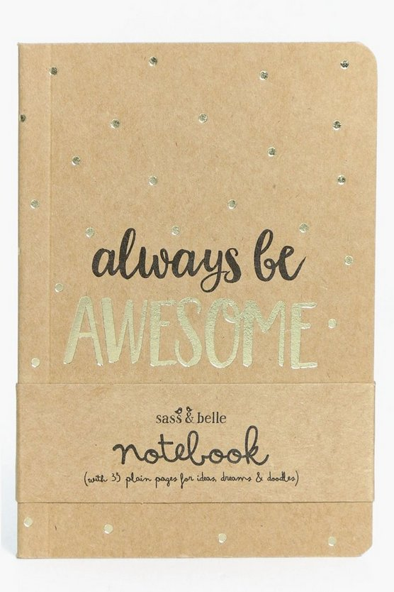 Always Be Awesome Notebook