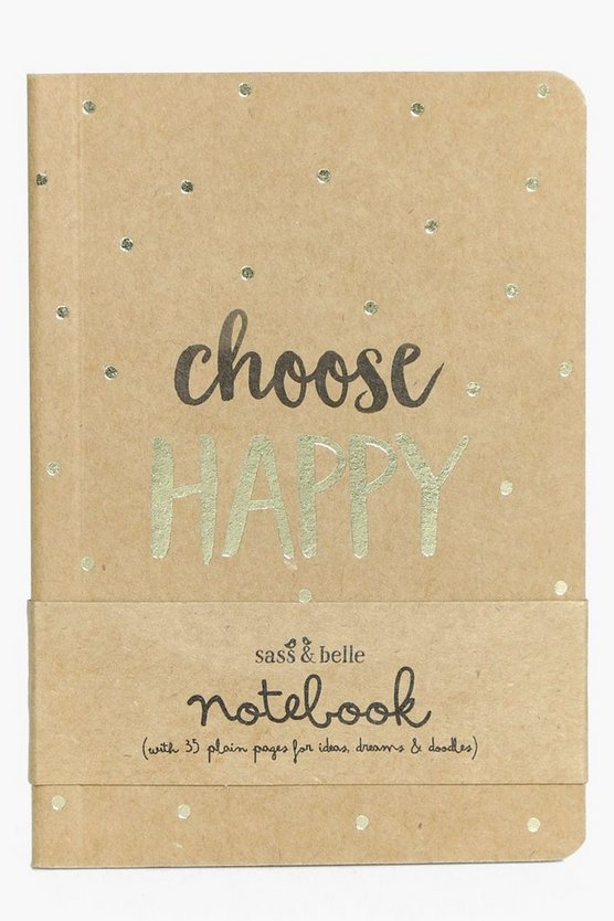 Choose Happy Notebook