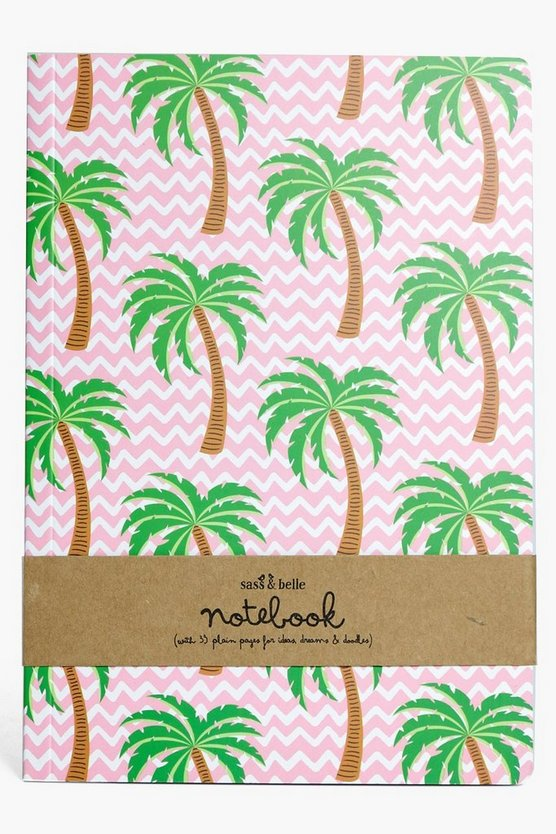 Tropical Palm Tree A5 Notebook