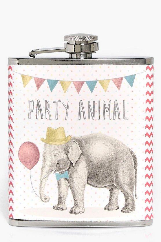 Party Animal Hip Flask