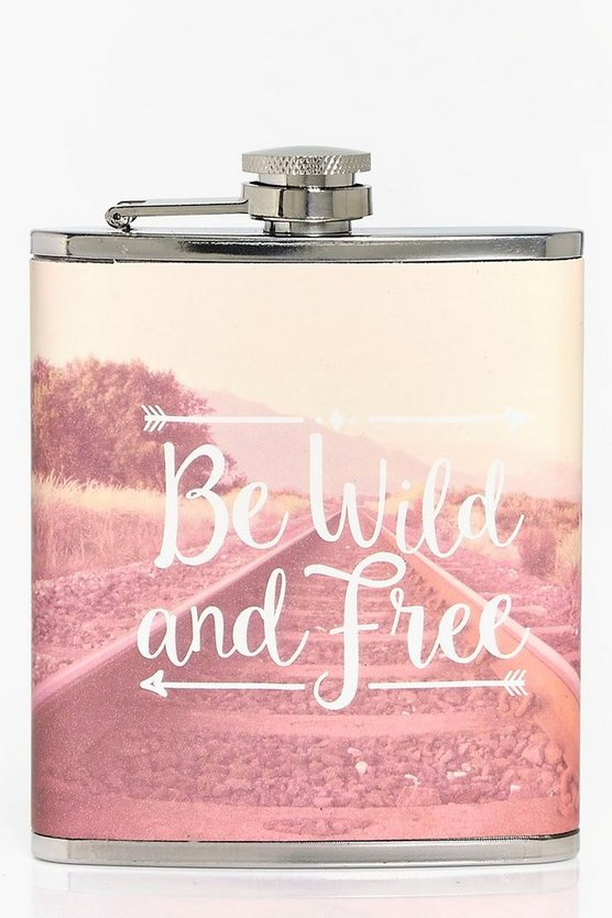 Wanderlust Hip Flask