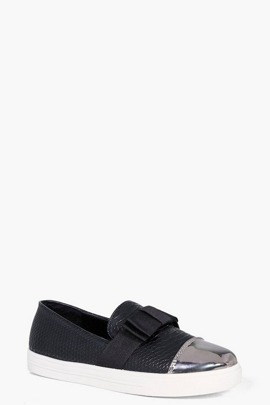 Jessica Bow Trim Skaters