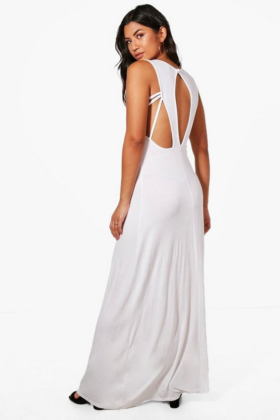 Maddison Keyhole Detail Maxi Dress