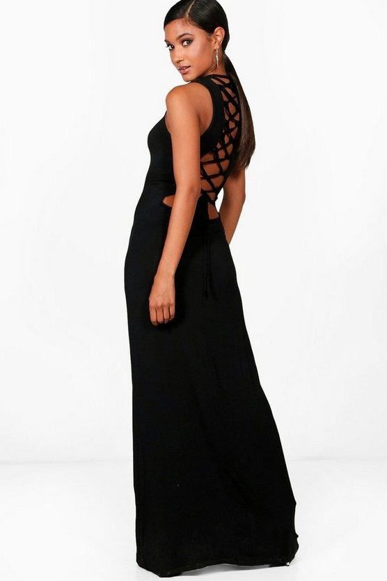 Lucie Strappy Back Maxi Dress