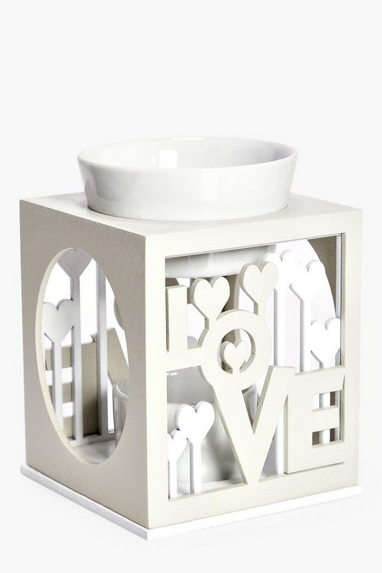 Love Oil Burner Tea Light Holder