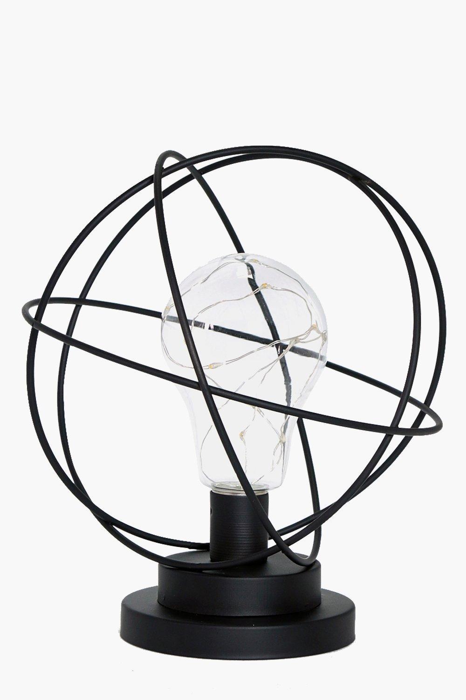 Sphere LED Lamp - black