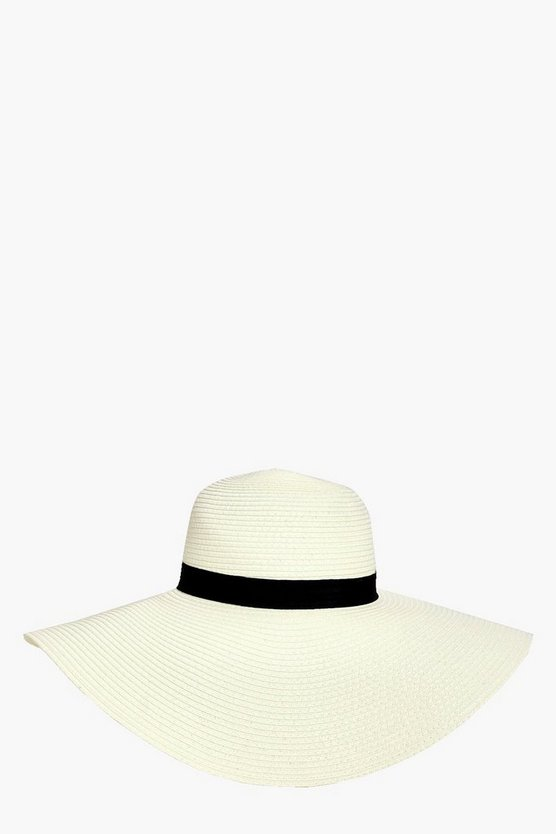 Alice Straw Floppy Hat