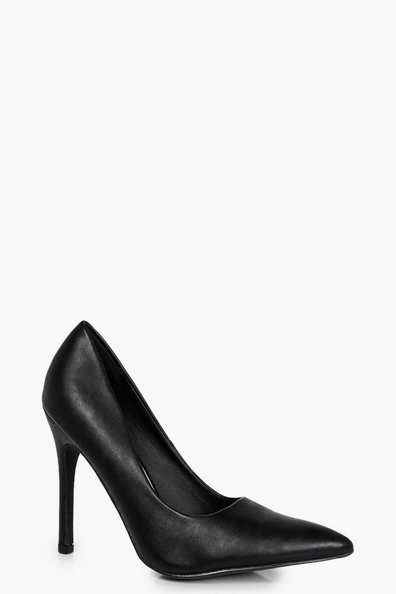 Grace Pointed Court Heels
