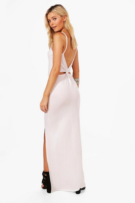 Selena Knot Back Maxi Dress