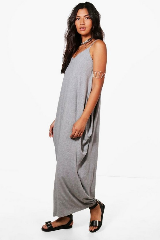 Indi Drape Side Maxi Dress