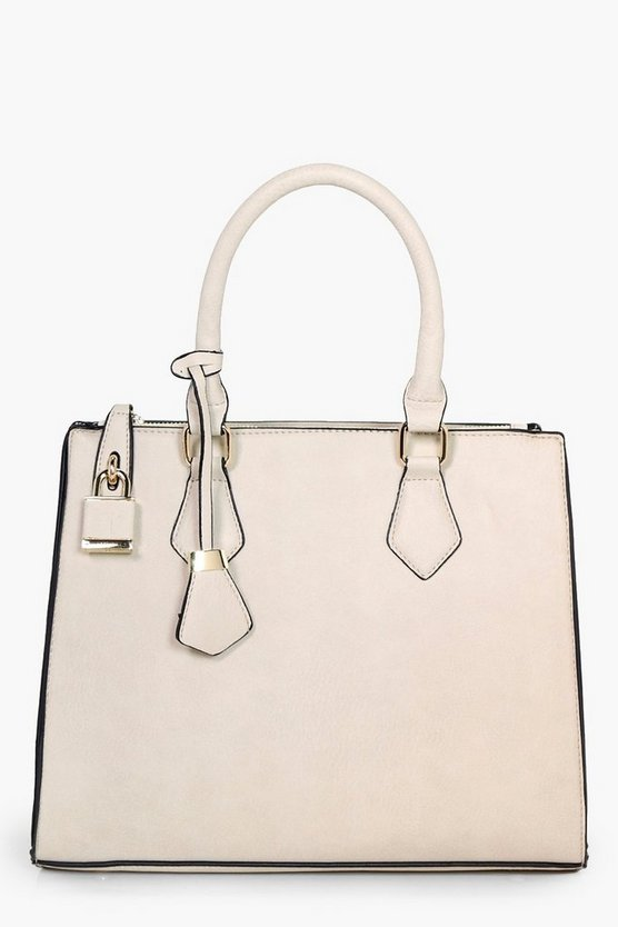 Lily Structured Tote Day Bag