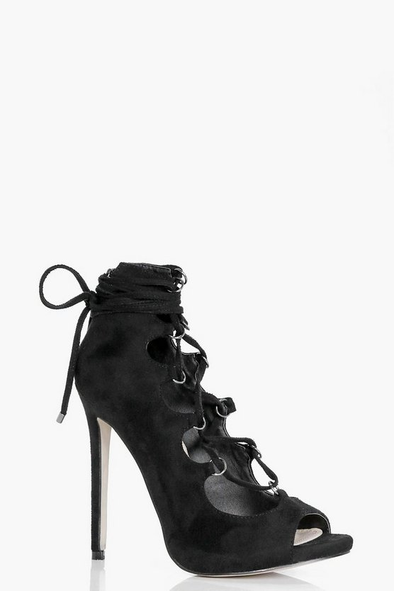 Isabelle Lace Up Stiletto Heel