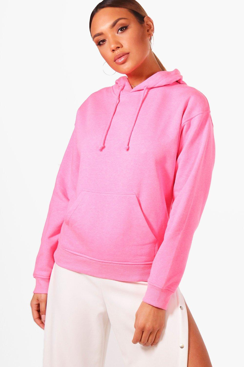 Click to view product details and reviews for Bright Overhead Hoody Pink.