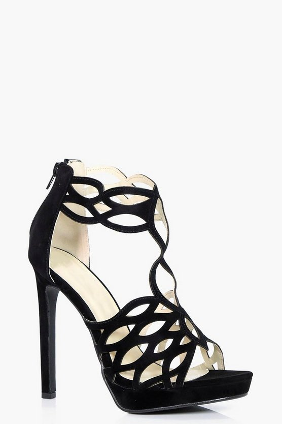 Sophie Cut Out Platform Heel