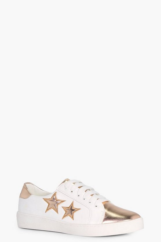 Lola Star Embroidered Trainer