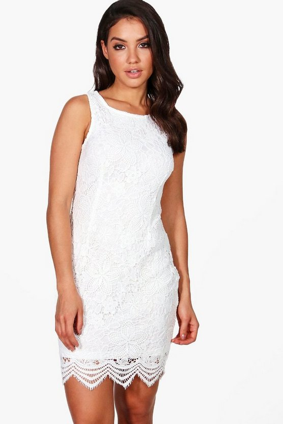 Niamh Lace Sleeveless Bodycon Dress