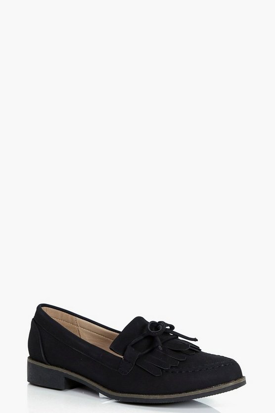 Laura Fringe Detail Loafer