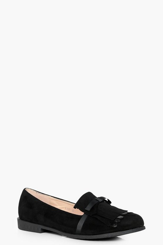 Kate Fringe Detail Loafer