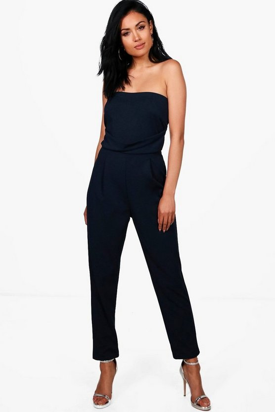 Marlin Bandeau Tailored Woven Slim Fit Jumpsuit