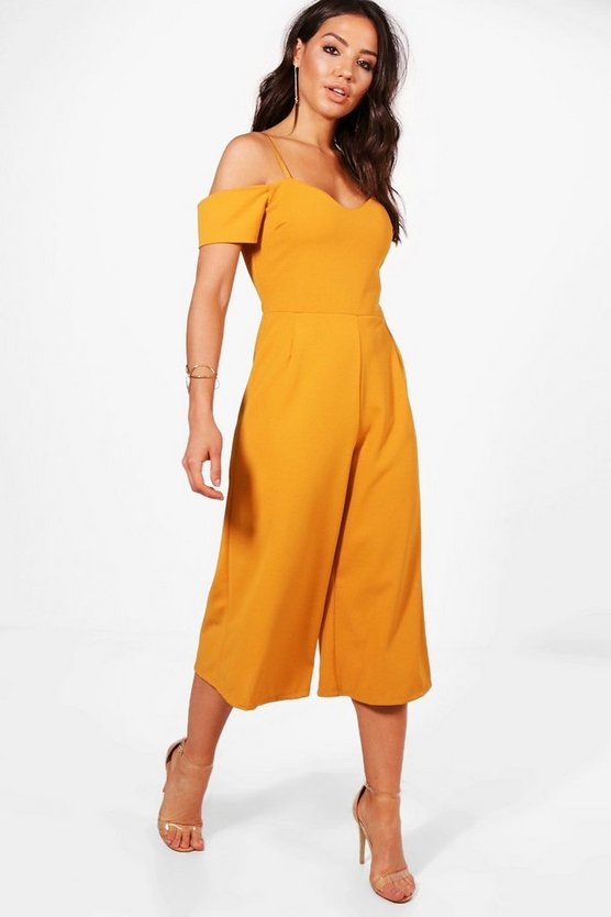 Laura Off The Shoulder Culotte Jumpsuit