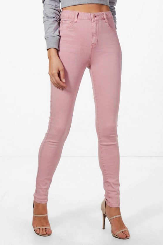 Maria Mid Rise Skinny Jeans