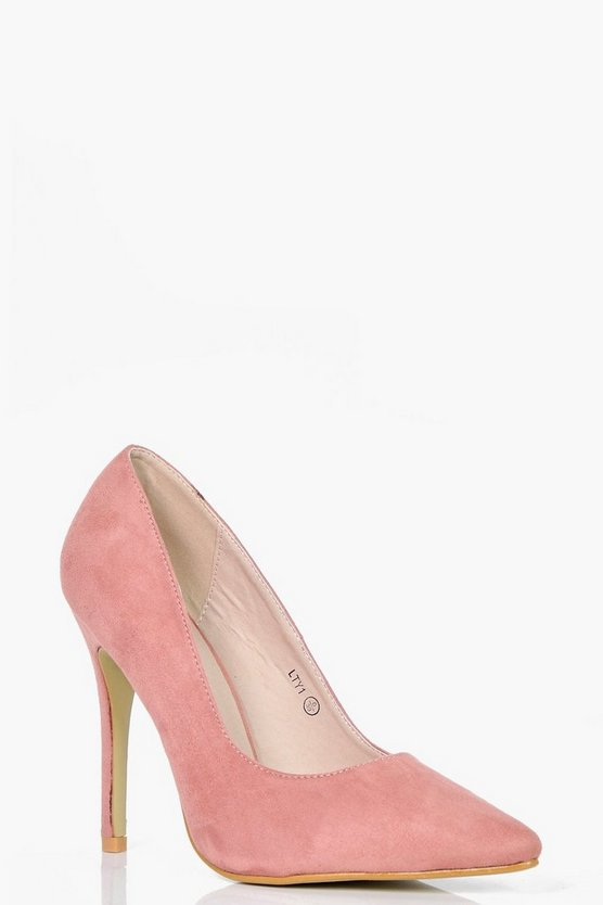 Freya Pointed Toe Court Heels