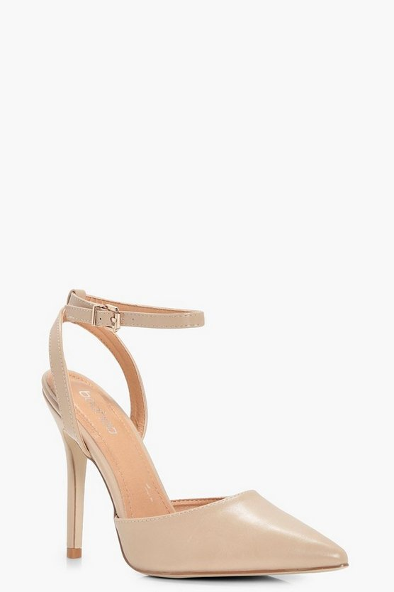 Annie Court Sling Back Stiletto