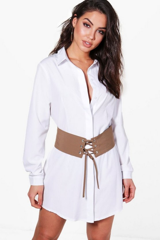 Louisa Corset Belt 2 In 1 Dress