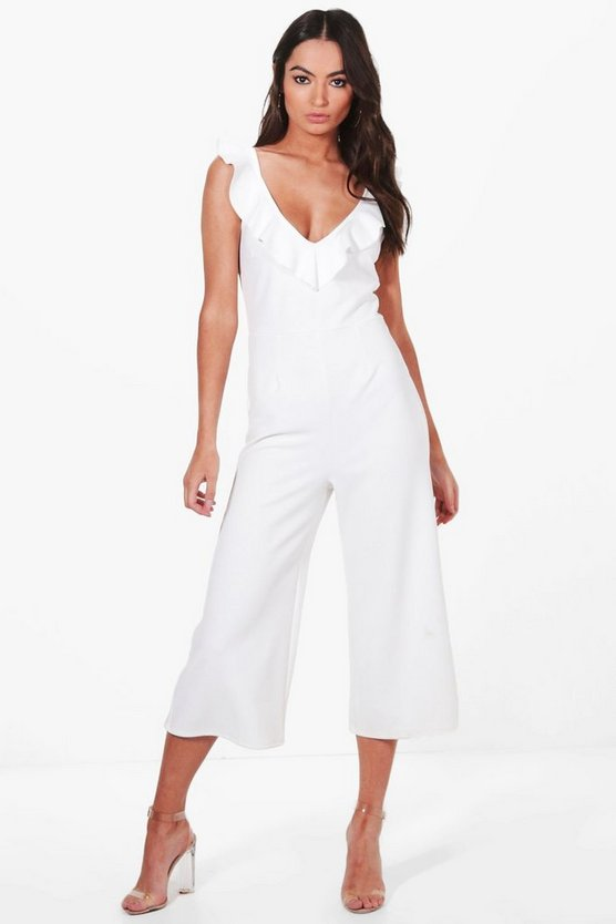 Lauren Neck Culotte Jumpsuit