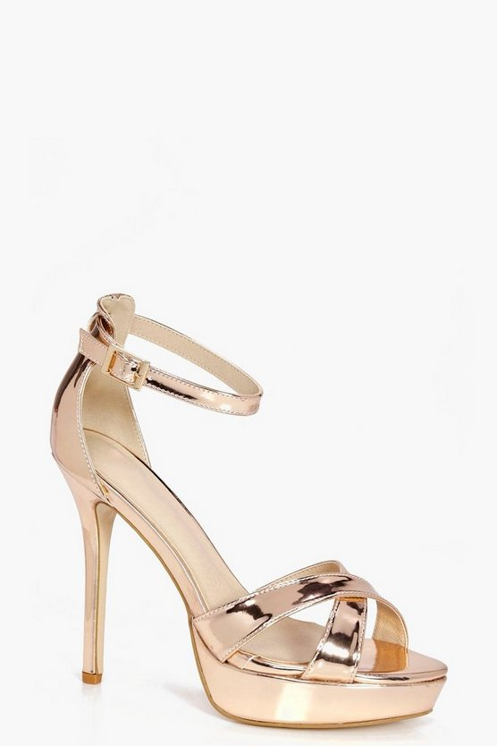 Lauren Cross Front Platform Stiletto