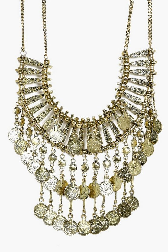 Julia Statement Coin Necklace