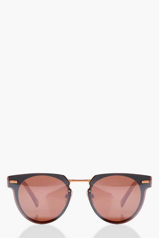 Freya Mirrored Retro Sunglasses