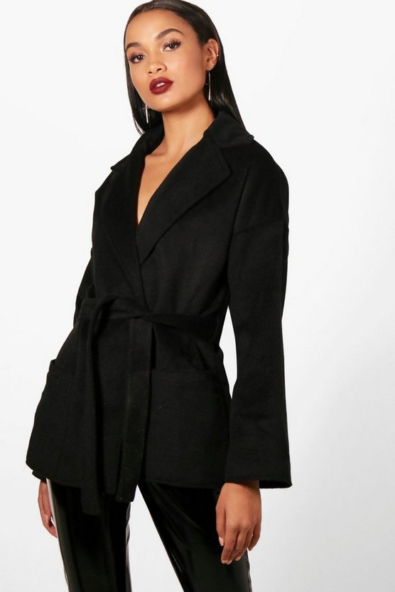 Harriet Belted Robe Coat