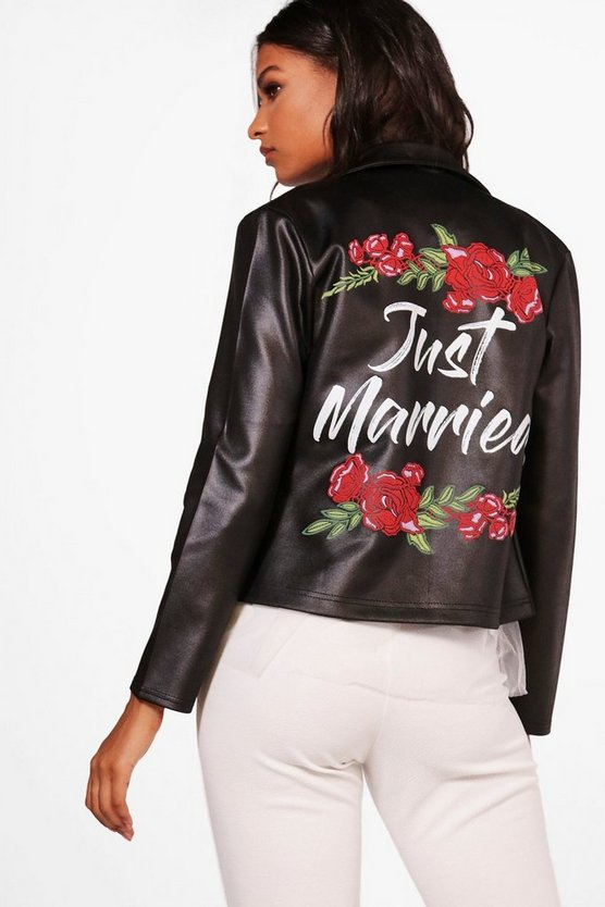 Faith Just Married Slogan Scuba Biker