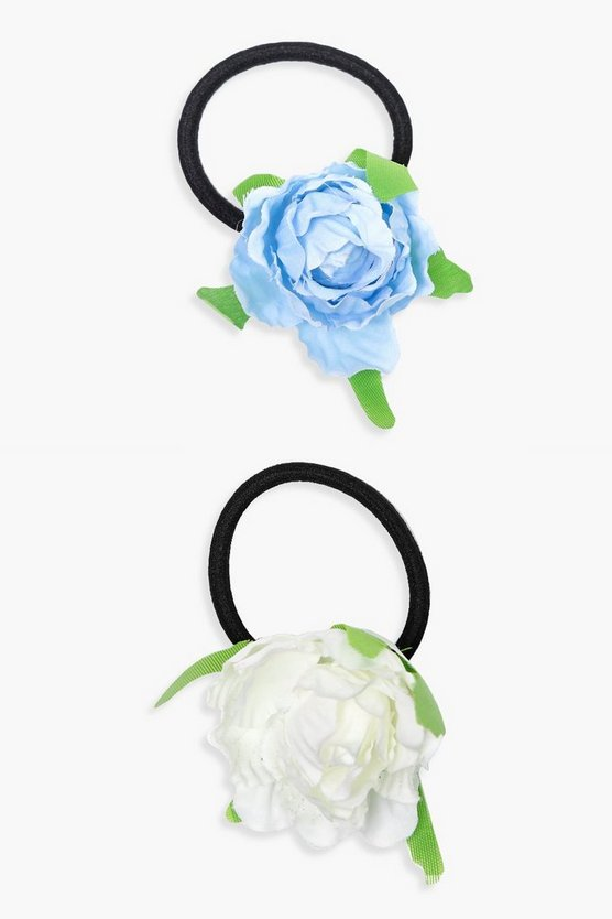 Gracie Floral Hair Bobble 2 Pack