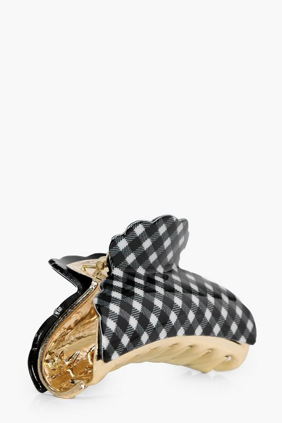Brooke Gingham Hair Clip