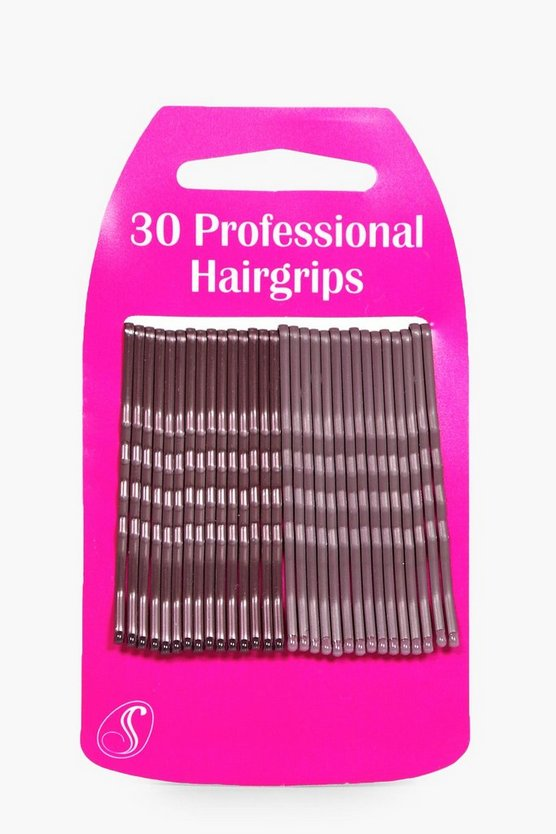 Sofia Long Hair Kirby Grips 30 Pack