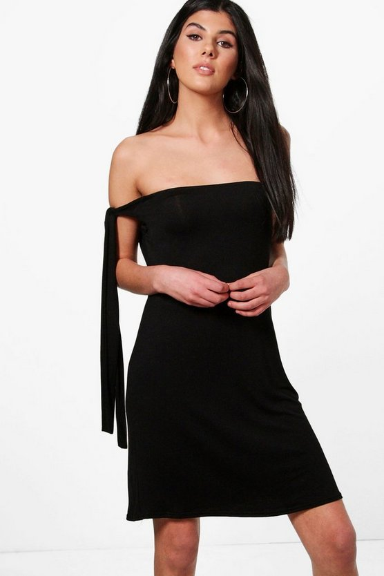 Talia One Shoulder Shift Dress