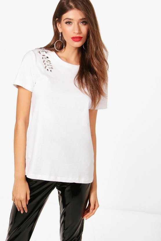 Annabel Embellished T-Shirt