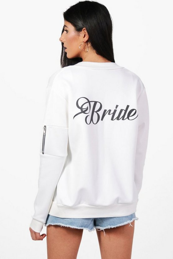 Kelly Bride Bomber Jacket