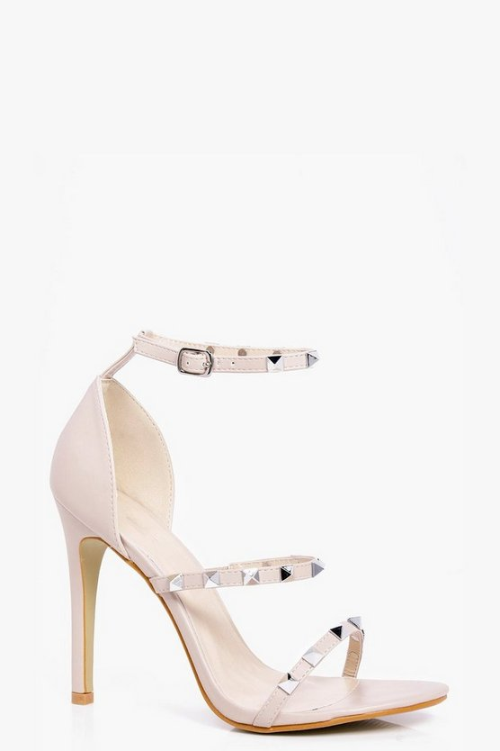 Maddison Square Studded 3 Band Heels