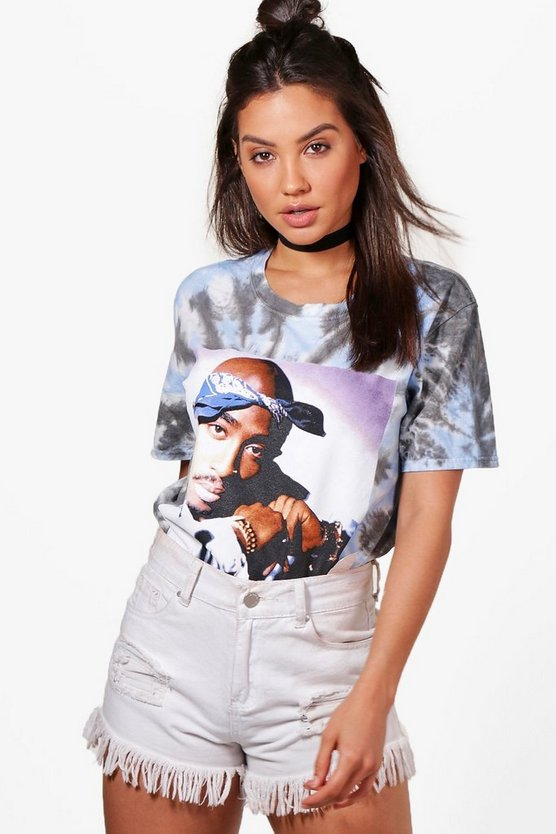 Sarah Bleached License 2 Pac T-Shirt
