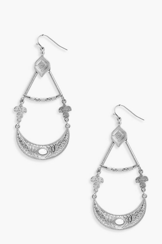 Erin Statement Chandelier Boho Earrings