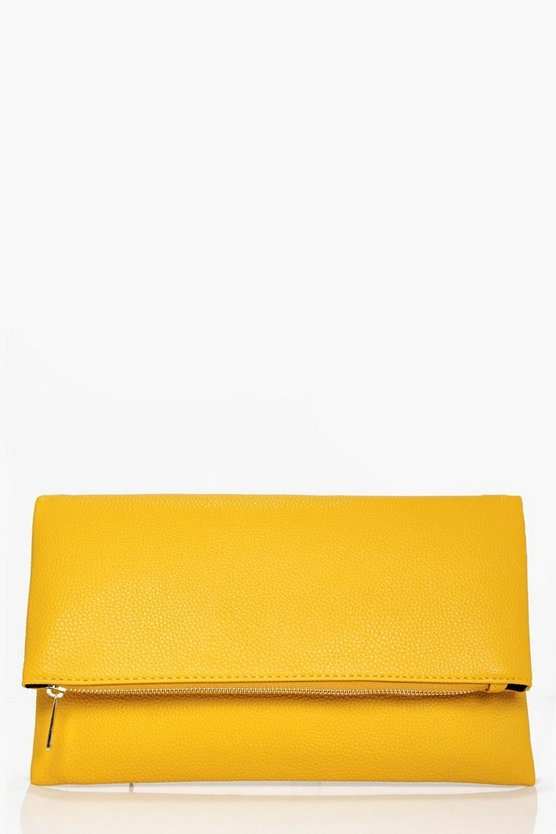 Frances Daisy Foldover Clutch Bag